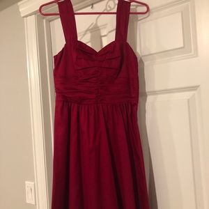 EXPRESS women's cocktail/party dress Size 2 in Red